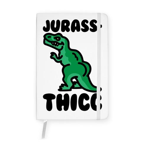 Jurassthicc Parody Notebook