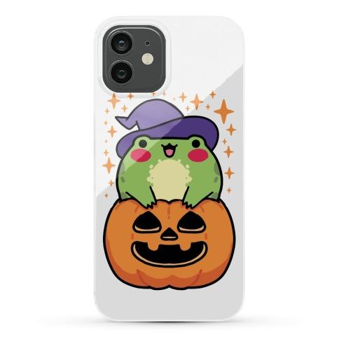 Cute Halloween Frog Phone Case