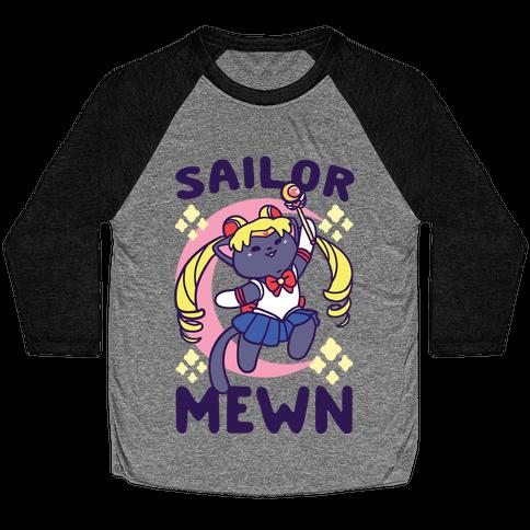 Sailor Mewn Baseball Tee