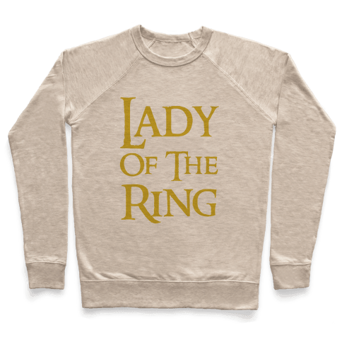 Lady of the Ring Pullover