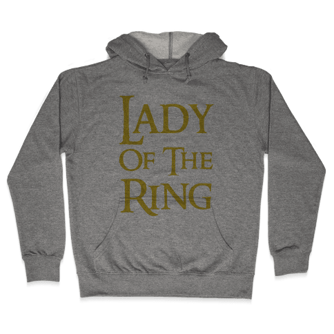 Lady of the Ring Hooded Sweatshirt