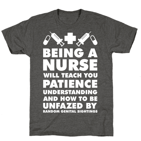 Being A Nurse White