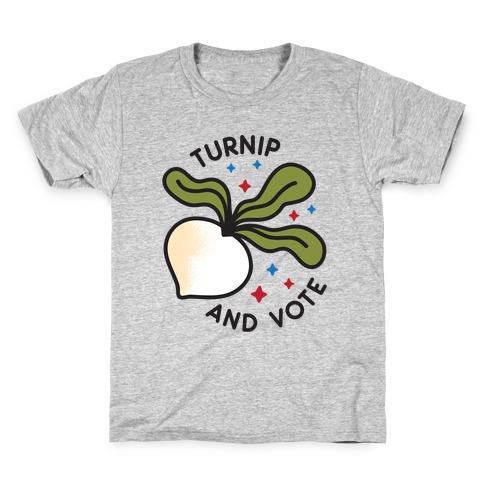 Turnip And Vote Kids T-Shirt