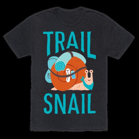 Trail Snail Mens/Unisex T-Shirt