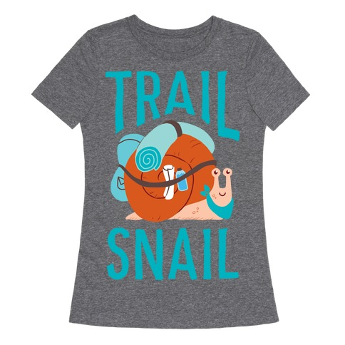 Trail Snail Womens T-Shirt