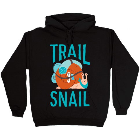 Trail Snail Hooded Sweatshirt