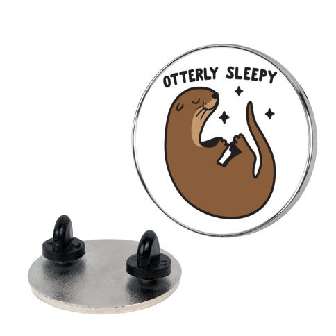 Otterly Sleepy Pin