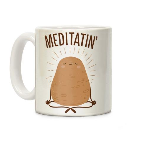Meditatin' Coffee Mug