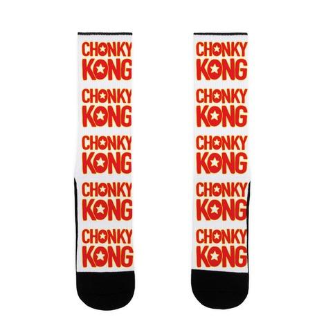 Chonky Kong Parody Sock