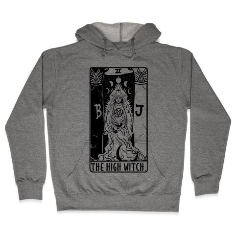 The High Witch Tarot Hooded Sweatshirt