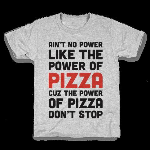 Power of Pizza Kids T-Shirt