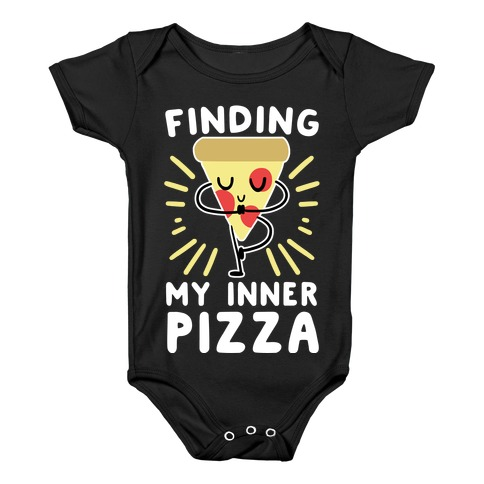 Finding My Inner Pizza Baby Onesy