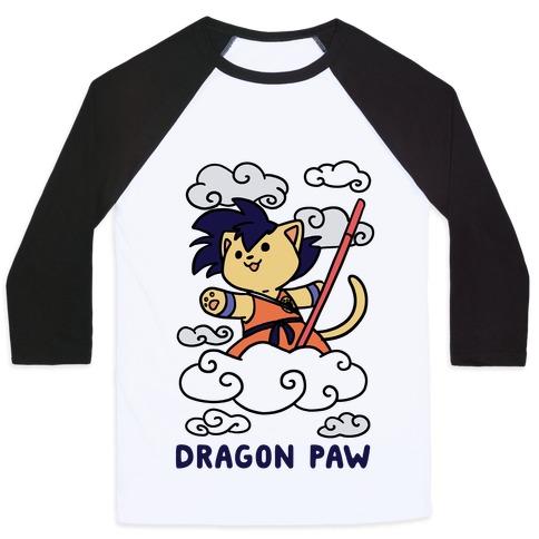 Dragon Paw - Goku Baseball Tee
