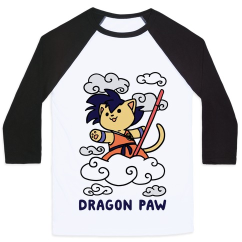 Dragon Paw - Goku Baseball Tee