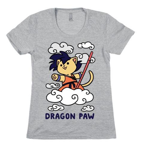 Dragon Paw - Goku Womens T-Shirt