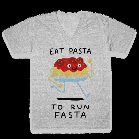 pasta puns v neck tee shirts lookhuman