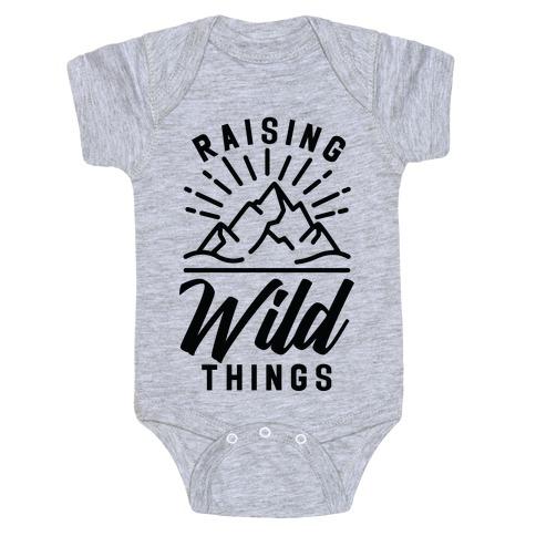 Raising Wild Things Baby Onesy
