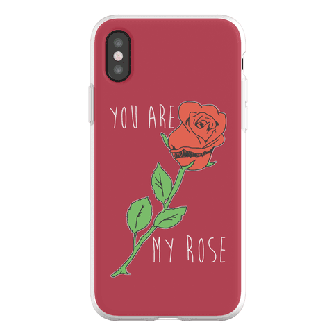 You Are My Rose Phone Flexi-Case