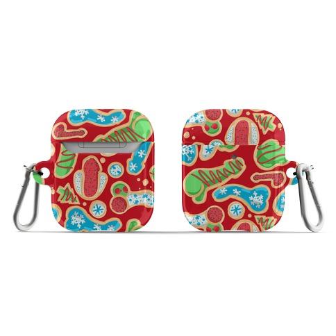 Phallic Christmas Cookies AirPod Case