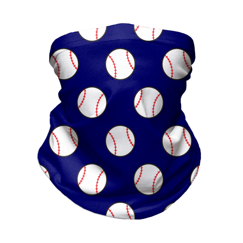 Baseball Pattern Neck Gaiter