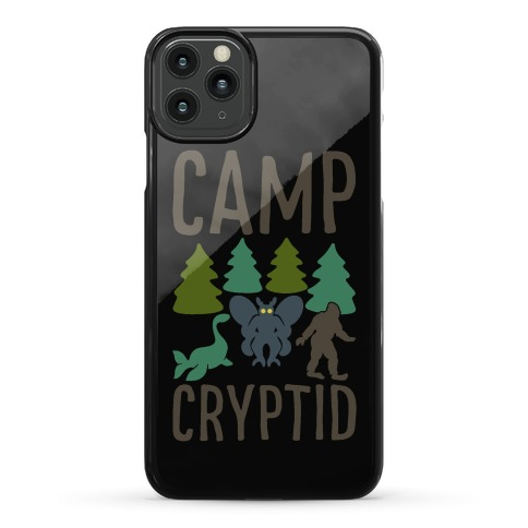 Camp Cryptid Phone Case