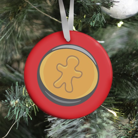 Holiday Honeycomb Candy Challenge Parody Ornament