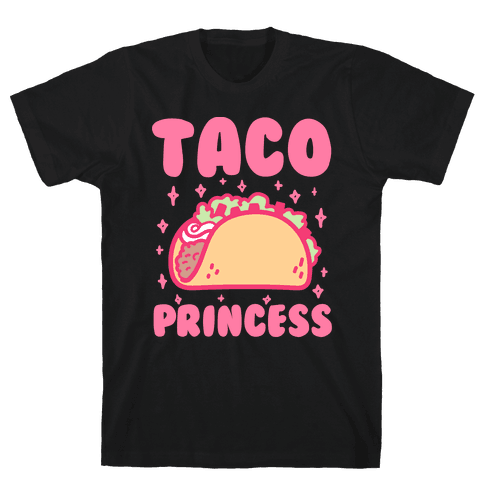 Taco Princess Mens T-Shirt