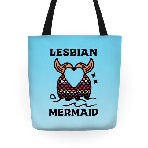 Lesbian Mermaid Tote