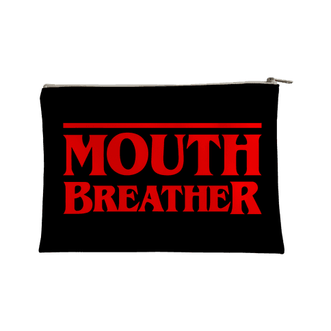 Mouth Breather Parody Accessory Bag