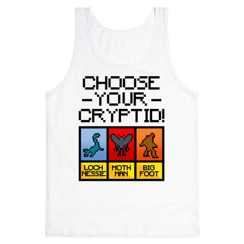 Choose Your Cryptid Tank Top