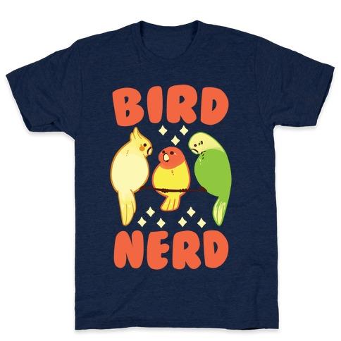 Bird Nerd Mens T-Shirt