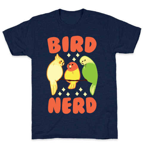 Bird Nerd Mens T-Shirt