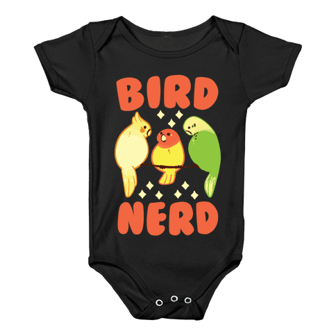 Bird Nerd Baby Onesy