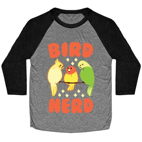 Bird Nerd Baseball Tee