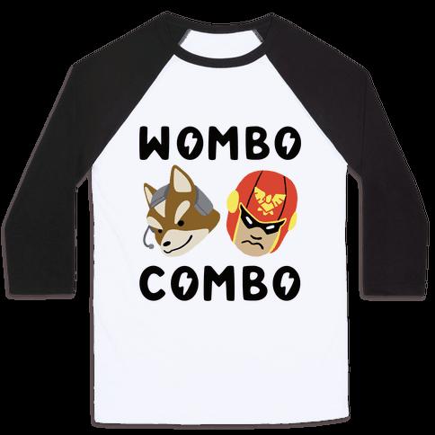 Wombo Combo - Fox and Captain Falcon Baseball Tee