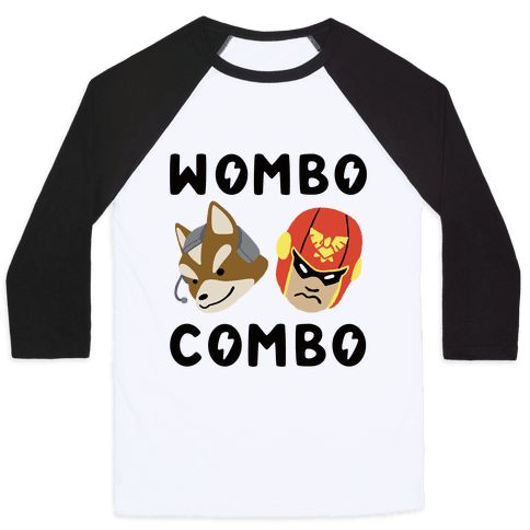 Wombo Combo - Fox and Captain Falcon Baseball Tee