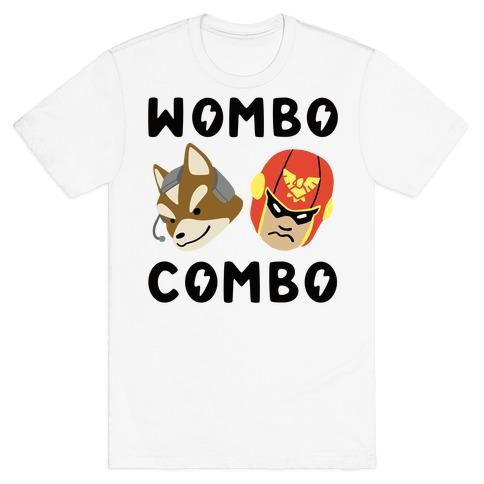 Wombo Combo - Fox and Captain Falcon T-Shirt