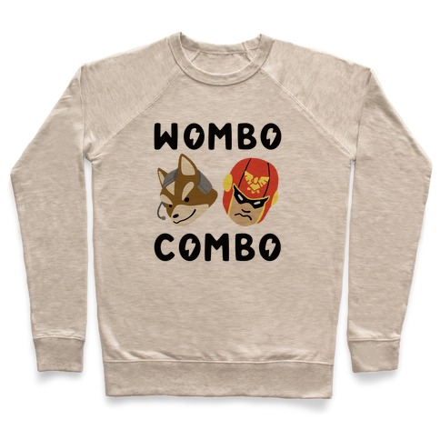 Wombo Combo - Fox and Captain Falcon Pullover