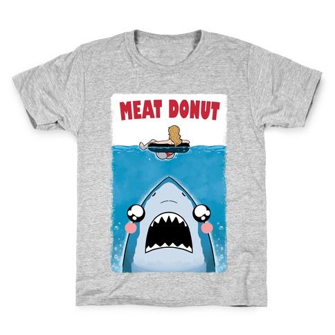 Meat Donut Jaws Parody Kids T-Shirt