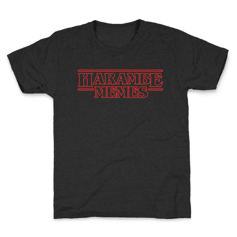 Harambe Memes Kids T-Shirt