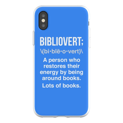Bibliovert Definition Phone Flexi-Case