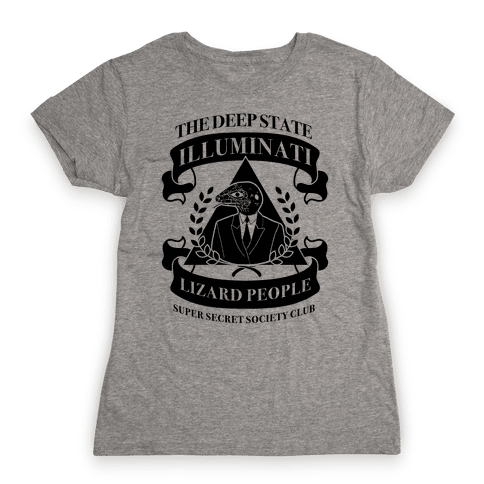 Super Secret Society Club Womens T-Shirt