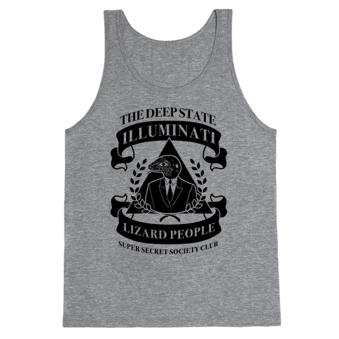 Super Secret Society Club Tank Top