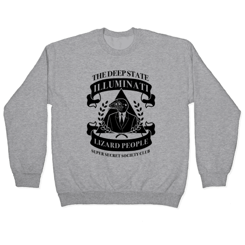 Super Secret Society Club Pullover