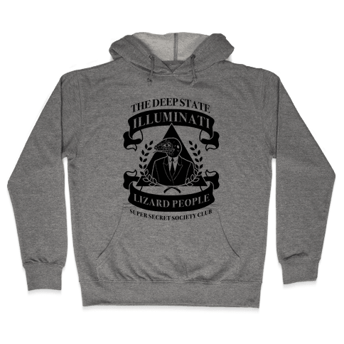Super Secret Society Club Hooded Sweatshirt