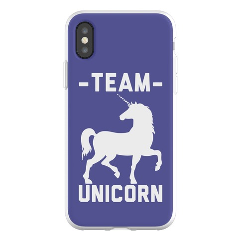 Team Unicorn Phone Flexi-Case