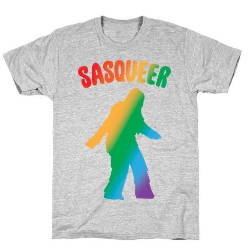 Sasqueer Parody T-Shirt