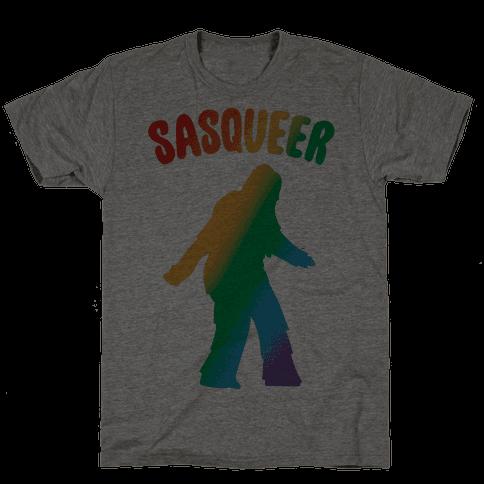 Sasqueer Parody Mens T-Shirt