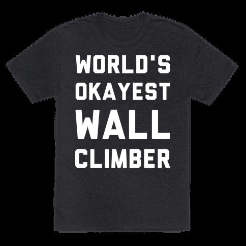 World's Okayest Wall Climber