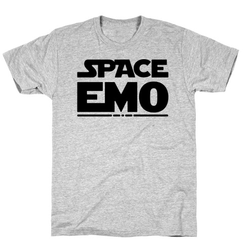 Space Emo Parody T-Shirt